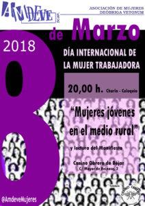 Béjar Día Internacional de la Mujer AMDEVE Marzo 2018