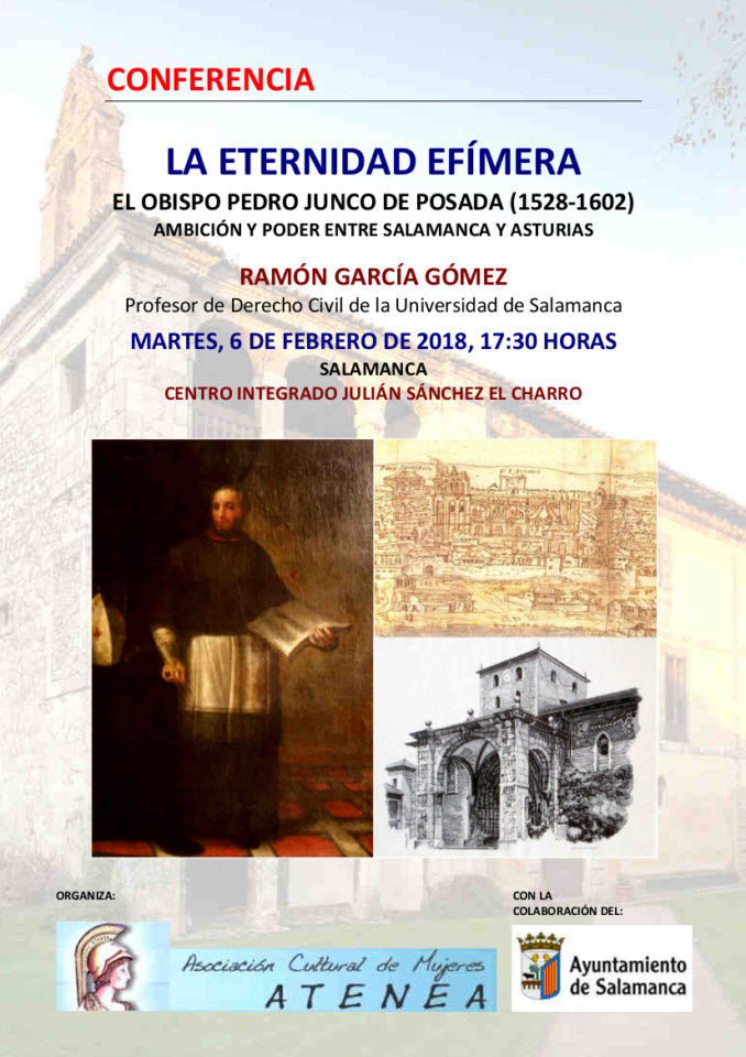 Julián Sánchez El Charro Ramón García Gómez Atenea Salamanca Febrero 2018