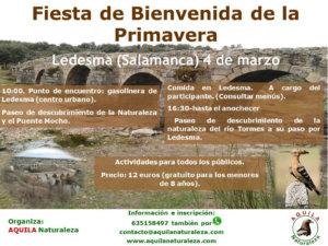 Ledesma Fiesta de Bienvenida de la Primavera Aquila Naturaleza Marzo 2018