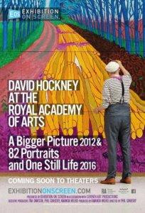Cines Van Dyck David Hockney en la Royal Academy Documentales de Pintura 2017-2018 Salamanca
