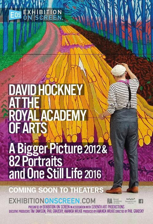 Cines Van Dyck David Hockney en la Royal Academy Documentales de Pintura 2017-2018 Salamanca
