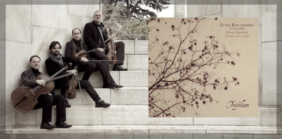 Conservatorio Profesional de Música de Salamanca Ensemble Trifolium Febrero 2018