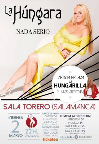 Sala Torero La Húngara Salamanca Marzo 2018