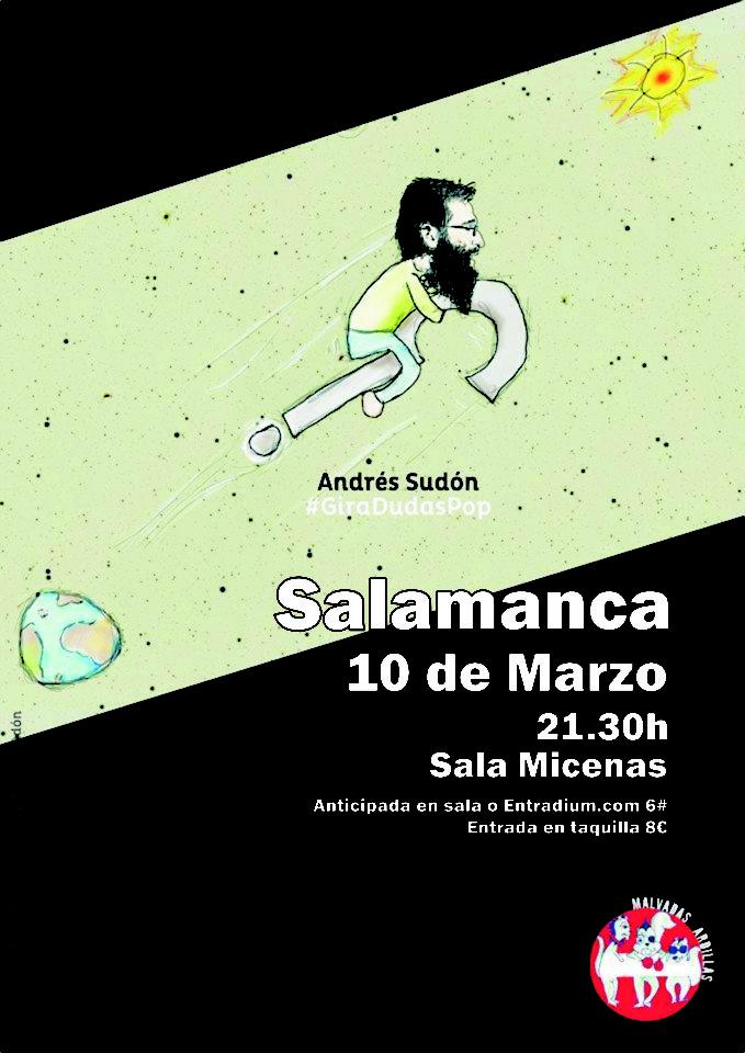 Sala Micenas Adarsa Andrés Sudón Salamanca Marzo 2018