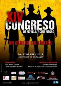 XIV Congreso de Novela y Cine Negro Salamanca Abril 2018