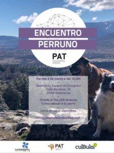 Serendípity Cómo educar a tu perro Salamanca Marzo 2018