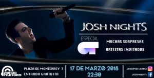 Music Factory Josh Nights‎ Salamanca Marzo 2018