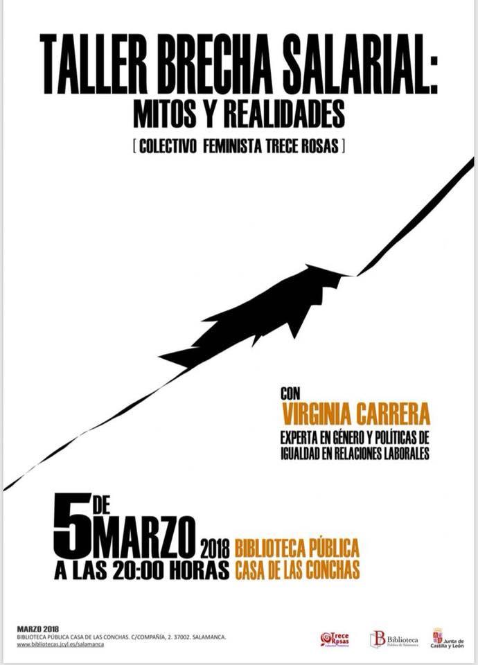 Casa de las Conchas Brecha salarial Mitos y realidades Salamanca Marzo 2018