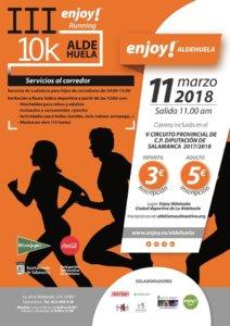La Aldehuela III Enjoy Runnig 10K Salamanca Marzo 2018