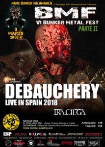 Nave Bunker VI Bunker Metal Fest 2018 - Parte 2 Villares de la Reina Marzo 2018