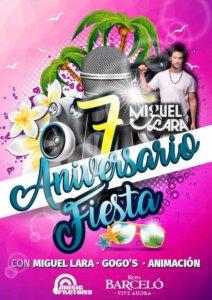 Music Factory Fiesta VII Aniversario Salamanca Marzo 2018