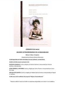 La Malhablada Jornada 8 de marzo Salamanca 2018