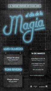 La Espannola El día de la magia Salamanca Marzo 2018