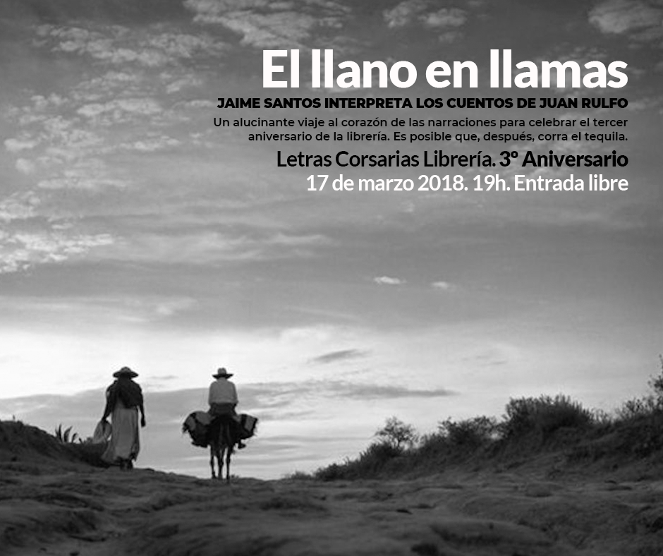 Letras Corsarias El llano en llamas Salamanca Marzo 2018