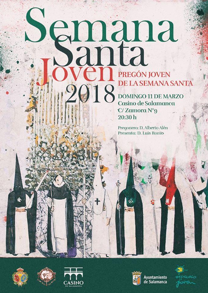 Casino de Salamanca Pregón Joven de la Semana Santa Marzo 2018