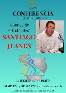 Casino de Salamanca Santiago Juanes Comida de estudiantes Marzo 2018