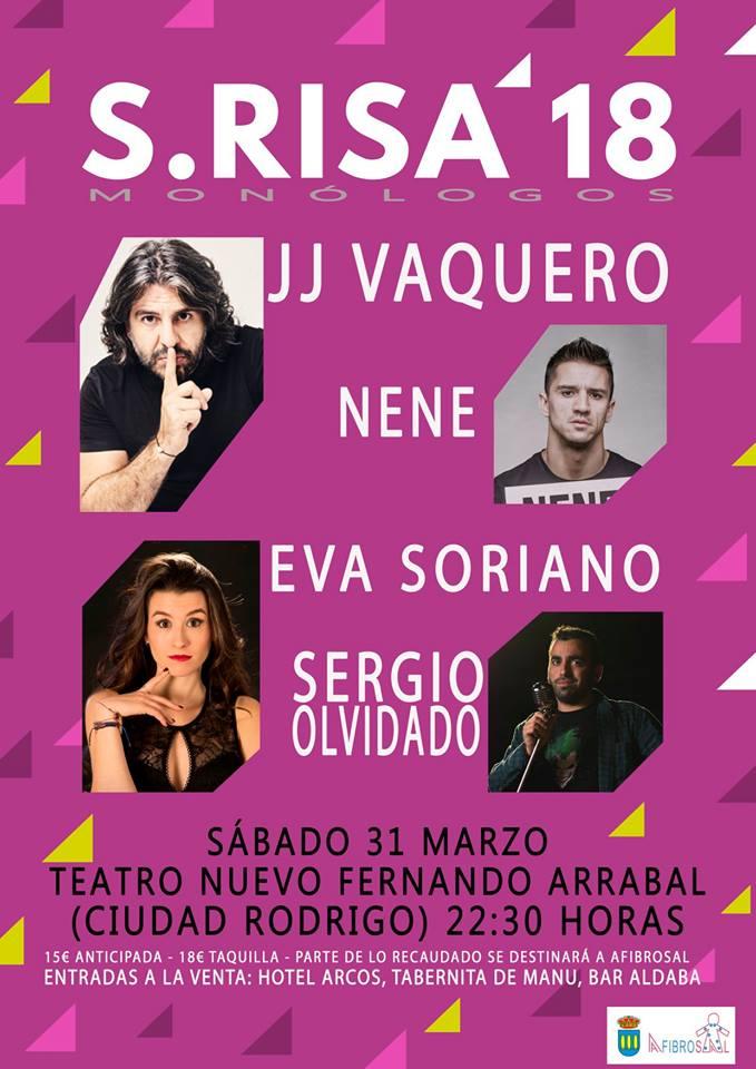 Teatro Nuevo Fernando Arrabal S.Risa'18 Ciudad Rodrigo Marzo 2018