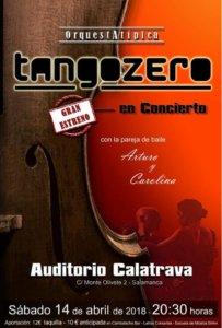 Auditorio Calatrava Tango Zero Salamanca Abril 2018
