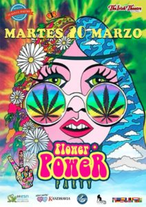 The Irish Theatre Flower Power Party Salamanca Marzo 2018