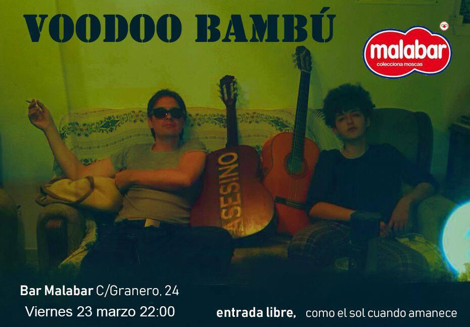 Malabar Voodoo Bambú Salamanca Marzo 2018