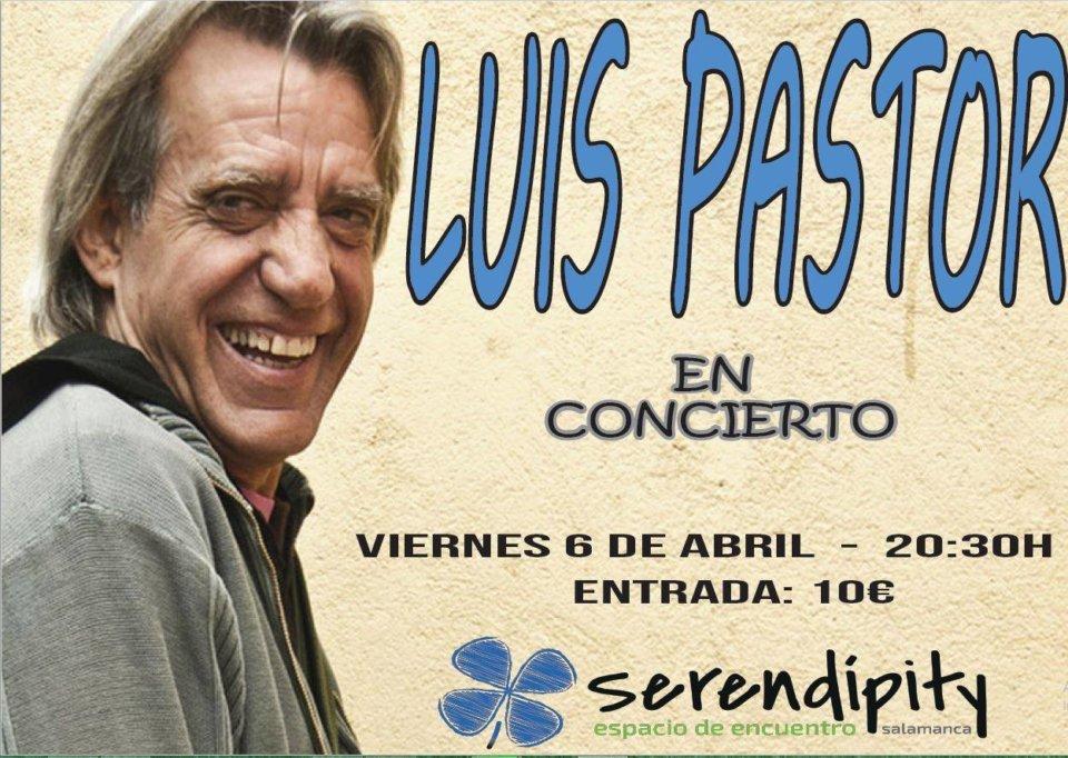 Serendípity Luis Pastor Salamanca Abril 2018