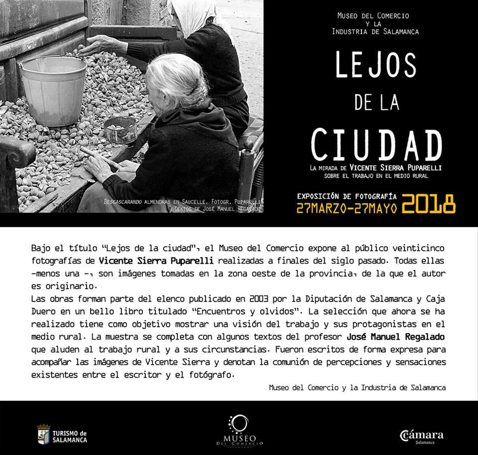 Museo del Comercio y de la Industria Lejos de la ciudad Salamanca Marzo abril mayo 2018
