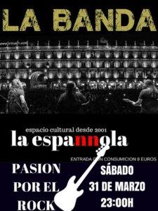 La Espannola La Banda Salamanca Marzo 2018