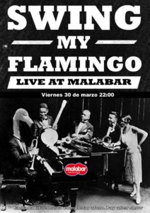 Malabar Swing my Flamingo Salamanca Marzo 2018