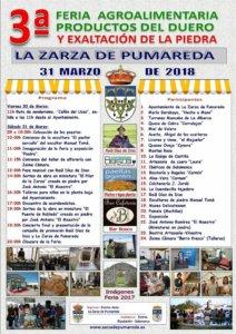 La Zarza de Pumareda III Feria Agroalimentaria Productos del Duero y Exaltación de la Piedra Marzo 2018