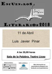 Teatro Liceo Luis Javier Pinar Pentadrama Salamanca Abril 2018