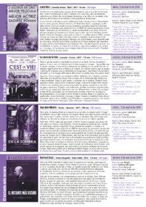 Cines Van Dyck 42 Semana Cine e idiomas 5 al 8 de marzo de 2018 Salamanca