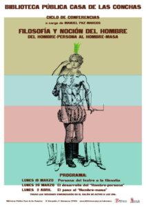 Casa de las Conchas Ciclo de Conferencias Filosofía y noción del hombre Salamanca 2018
