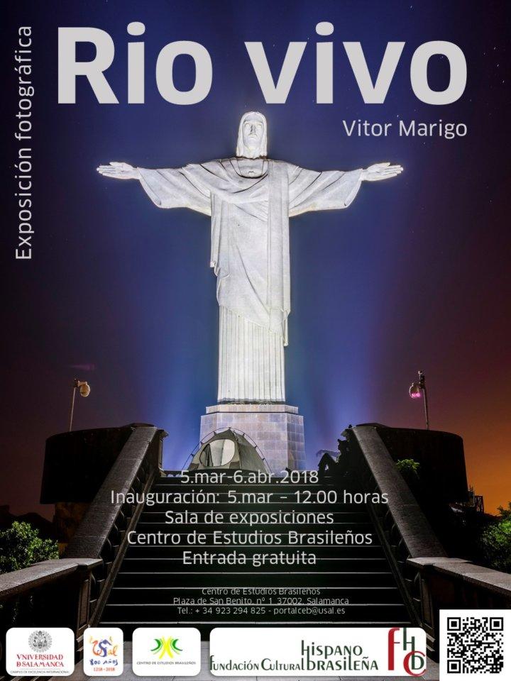 Centro de Estudios Brasileños Vitor Marigo Rio vivo Salamanca 2018