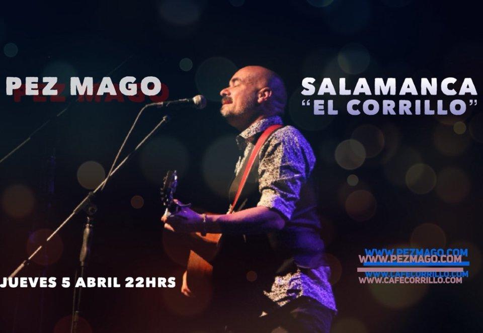 Café Corrillo Pez Mago Salamanca Abril 2018