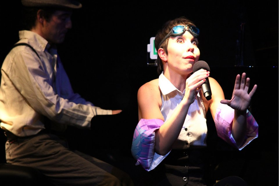 Sinkin' Dúo Cabaret Jazz Salamanca