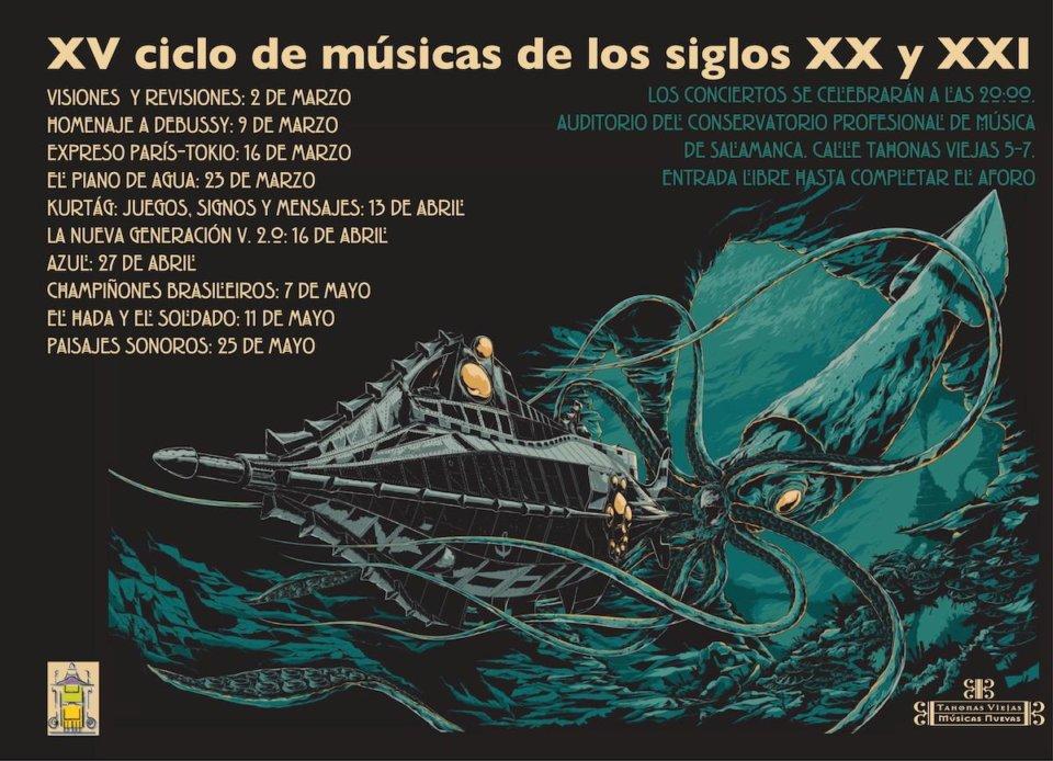 Conservatorio Profesional de Música de Salamanca XV Ciclo de Música de los Siglos XX y XXI 2018