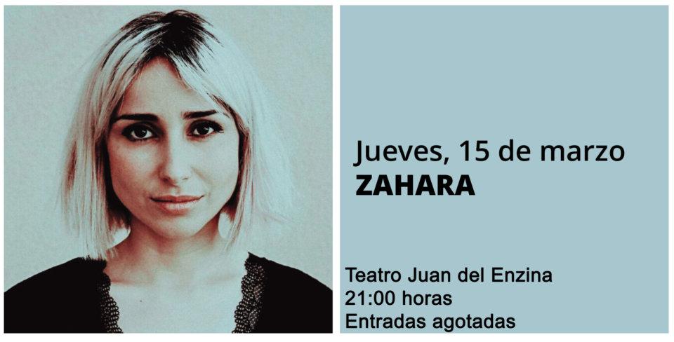 Aula Teatro Juan del Enzina Zahara Salamanca Marzo 2018