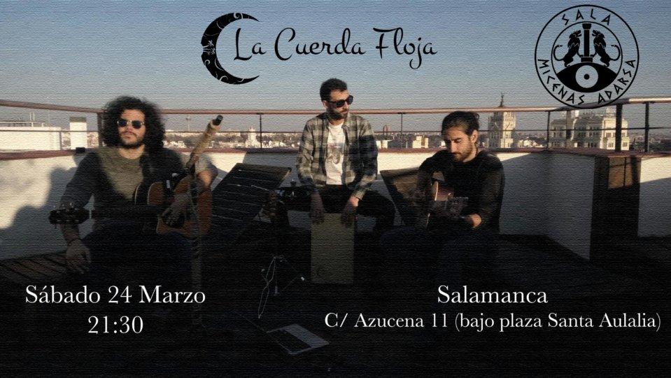 Sala Micenas Adarsa La Cuerda Floja Salamanca Marzo 2018
