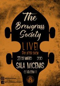 Sala Micenas Adarsa Th'Brewgrass Society Salamanca Marzo 2018