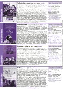 Cines Van Dyck 42 Semana Cine e idiomas 19 al 22 de marzo de 2018 Salamanca
