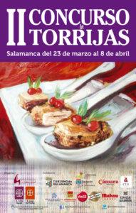 II Concurso de Torrijas Salamanca Marzo abril 2018
