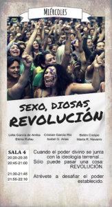 La Malhablada Sexo, diosas, revolución Salamanca Marzo 2018