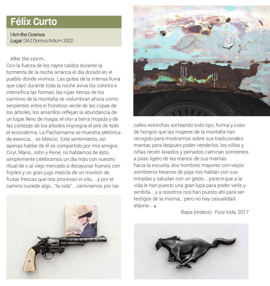 Domus Artium 2002 DA2 Félix Curto I am the cosmos Salamanca 2018