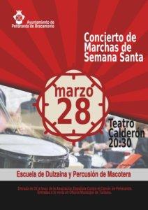 Teatro Calderón Concierto de Marchas de Semana Santa Peñaranda de Bracamonte Marzo 2018
