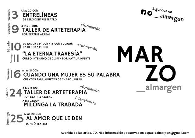 Espacio Almargen Salamanca Marzo 2018