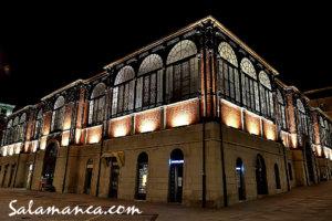 Mercado Central de Abastos con su nueva iluminación