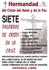 Iglesia de San Juan de Sahagún Siete Palabras de Cristo en la Cruz Salamanca Marzo 2018