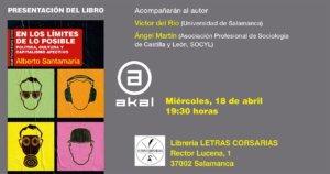 Letras Corsarias En los límites de lo posible. Política, cultura y capitalismo afectivo Salamanca Abril 2018