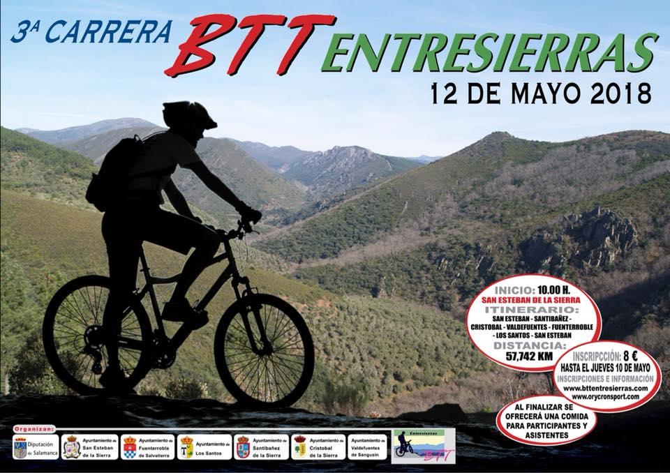 San Esteban de la Sierra III Carrera BTT Entresierras Mayo 2018