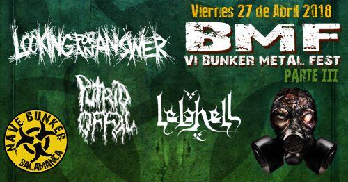 Nave Bunker VI Bunker Metal Fest 2018 - Parte 3 Villares de la Reina Abril